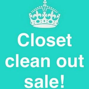 Other - Closet Clear Out Sale with Many More Items to Come